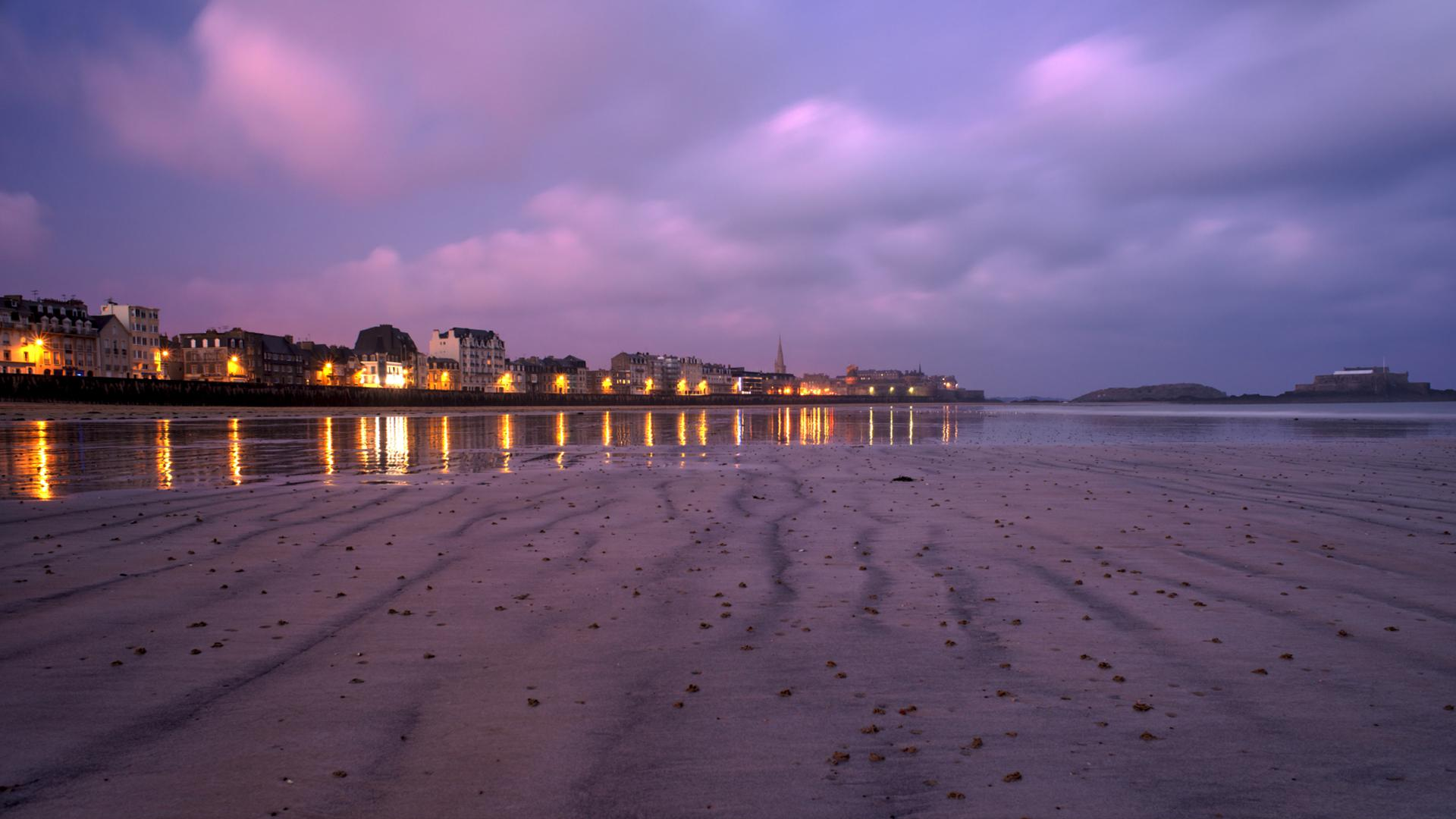 appart hotel saint malo, acces direct plage